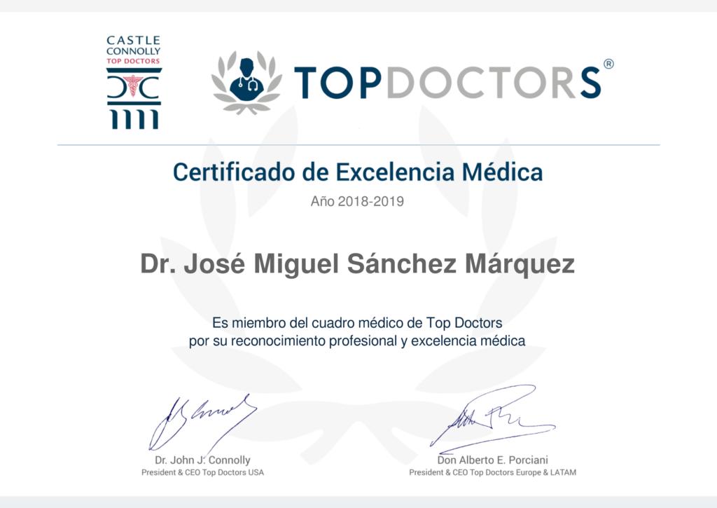 Dr. Sánchez Márquez - Top Doctors